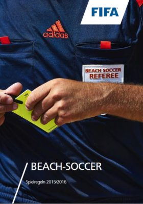 Beachsoccer 2015-16 Cover